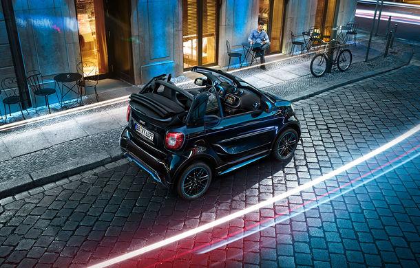 Modelele electrice din gama Smart intră în marea familie a sub-brandului EQ: au fost lansate edițiile speciale EQ Fortwo și EQ Forfour NightSky - Poza 2
