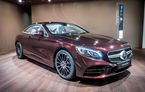 Mercedes Clasa S Coupe și Clasa S Cabrio Exclusive Edition: ediție specială cu faruri LED și cristale Swarovski