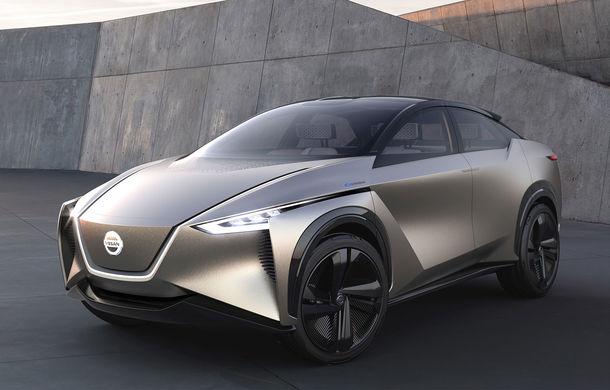 Nissan IMx Kuro: debutul european pentru conceptul autonom ce anunță un SUV electric de 435 CP și autonomie de 600 de kilometri - Poza 1