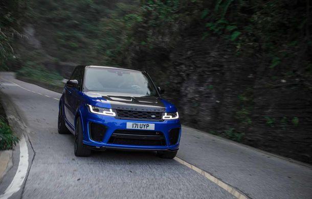 Un Range Rover Sport SVR a fost mai rapid decât un Ferrari 458 Italia: puțin sub 10 minute pentru un traseu de 11 kilometri cu 99 de viraje - Poza 2