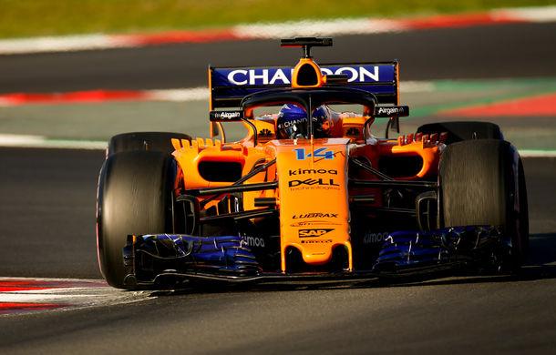 McLaren susține că a rezolvat toate defecțiunile monopostului: Alonso crede că echipa are potențial pentru sezonul 2018 - Poza 1