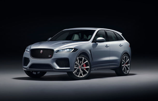 Jaguar F-Pace SVR: SUV-ul de performanță are un V8 de 5.0 litri cu 550 de cai putere - Poza 1
