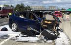 Încă o problemă pentru mașinile autonome: sistemul Autopilot de pe Tesla Model X era activat în timpul unui accident fatal