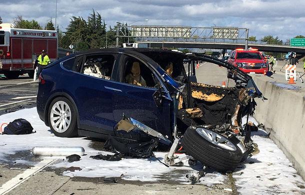 Încă o problemă pentru mașinile autonome: sistemul Autopilot de pe Tesla Model X era activat în timpul unui accident fatal - Poza 1