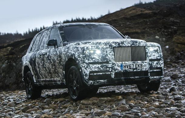 """Rolls-Royce semnează cu National Geographic: testele finale cu SUV-ul Cullinan fac parte din aventura """"The Final Challenge"""" - Poza 1"""