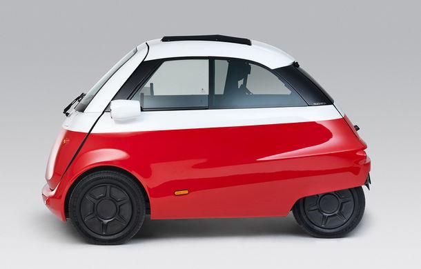 Cu aromă retro: o companie din Elveția lansează un model electric cu design inspirat de clasicul Isetta - Poza 4