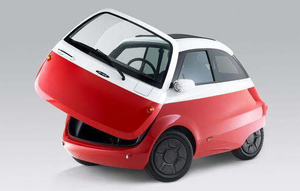 Cu aromă retro: o companie din Elveția lansează un model electric cu design inspirat de clasicul Isetta - Poza 3
