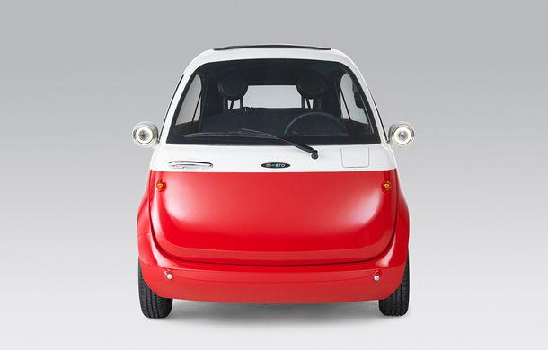 Cu aromă retro: o companie din Elveția lansează un model electric cu design inspirat de clasicul Isetta - Poza 2