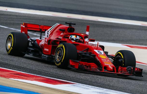 Vettel, pole position în Bahrain în fața lui Raikkonen și Bottas! Hamilton, locul 9 după retrogradarea de 5 poziții pe grilă - Poza 1