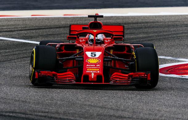 Vettel a câștigat cursa din Bahrain! Bottas și Hamilton au completat podiumul. Raikkonen și piloții Red Bull au abandonat - Poza 1