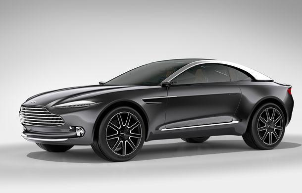 """Primul SUV Aston Martin va avea doar motoare pe benzină: șeful companiei susține că """"dieselul va muri până la urmă"""" - Poza 1"""