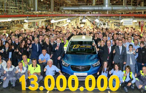 Sărbătoare în familia PSA: 13 milioane de mașini asamblate în cadrul fabricii Opel din Zaragoza - Poza 1