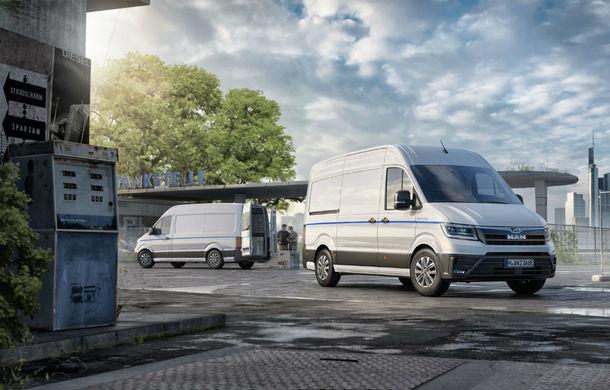Din iulie, MAN eTGE intră în producția de serie: utilitara electrică are un motor de 134 CP și autonomie maximă de 160 de kilometri - Poza 1