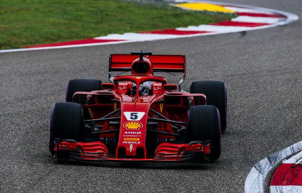 Vettel va pleca din pole position în cursa din China! Raikkonen pe locul 2, în fața lui Bottas și Hamilton - Poza 1