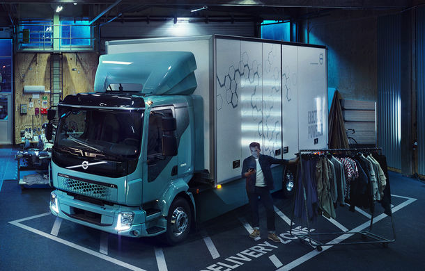 Tesla are un nou rival în segmentul camioanelor electrice: Volvo FL Electric are autonomie de 300 km - Poza 2