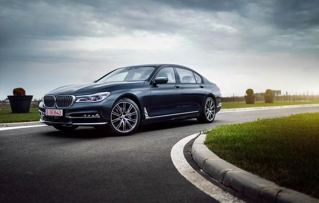 Test drive BMW Seria 7