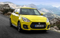 Test drive Suzuki Swift