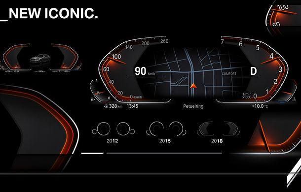 BMW prezintă următoarea generație pentru instrumentarul de bord și consola centrală: noul sistem are funcții noi și este mai ușor de personalizat - Poza 2