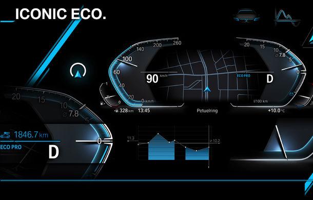 BMW prezintă următoarea generație pentru instrumentarul de bord și consola centrală: noul sistem are funcții noi și este mai ușor de personalizat - Poza 3