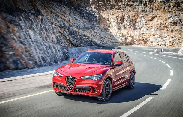 Alfa Romeo se bucură de vânzări în creștere la început de 2018: Stelvio și Giulia, cele mai căutate modele ale constructorului italian - Poza 1