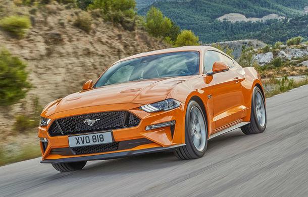 Ford Mustang facelift este disponibil în România: start de la 38.800 de euro - Poza 1