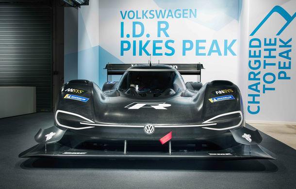 Volkswagen a prezentat ID R Pikes Peak: conceptul electric produce 680 CP și accelerează de la 0 la 100 km/h în 2.25 de secunde - Poza 2