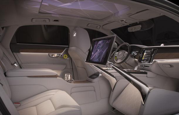Volvo S90 Ambience: concept de ambianță interioară care combină elemente vizuale, sunete și parfumuri pentru confortul pasagerilor - Poza 3