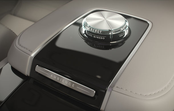 Volvo S90 Ambience: concept de ambianță interioară care combină elemente vizuale, sunete și parfumuri pentru confortul pasagerilor - Poza 14
