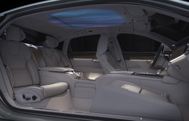 Volvo S90 Ambience: concept de ambianță interioară care combină elemente vizuale, sunete și parfumuri pentru confortul pasagerilor - Poza 6