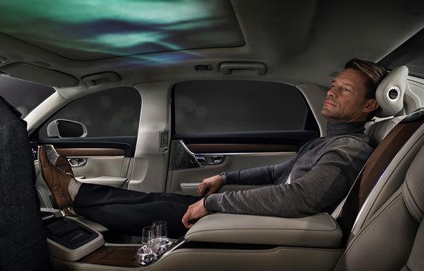 Volvo S90 Ambience: concept de ambianță interioară care combină elemente vizuale, sunete și parfumuri pentru confortul pasagerilor - Poza 1