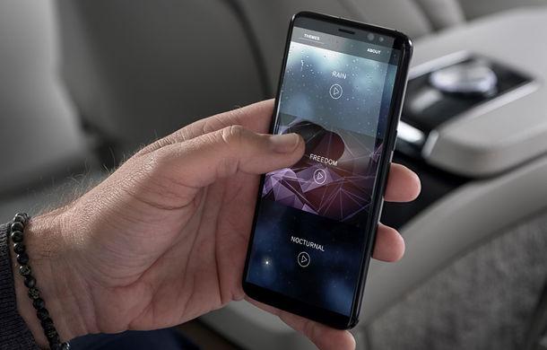 Volvo S90 Ambience: concept de ambianță interioară care combină elemente vizuale, sunete și parfumuri pentru confortul pasagerilor - Poza 15