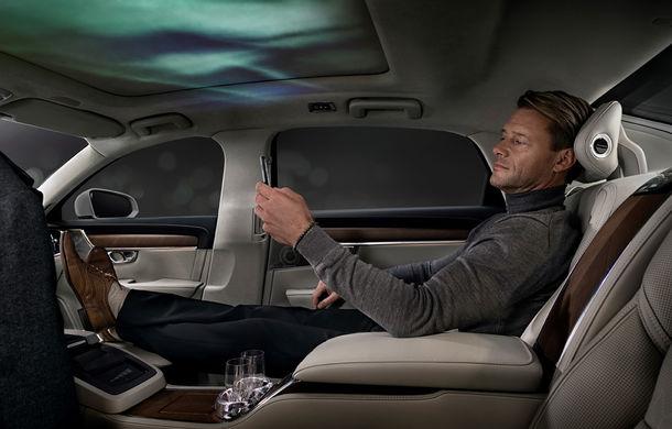 Volvo S90 Ambience: concept de ambianță interioară care combină elemente vizuale, sunete și parfumuri pentru confortul pasagerilor - Poza 2