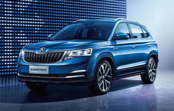 Primele detalii tehnice despre Skoda Kamiq: SUV-ul de oraș dedicat Chinei are motor pe benzină de 1.5 litri și 110 cai putere - Poza 1