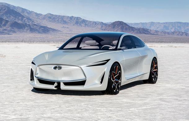 Infiniti va dezvolta o platformă nouă pentru vehicule electrice: proiectul are la bază conceptul Q Inspiration - Poza 1
