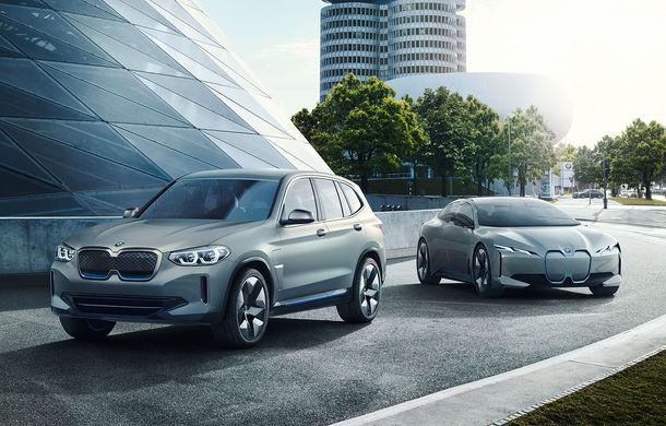BMW iX3 Concept: 270 CP și autonomie de 400 de kilometri pentru SUV-ul electric care se va lansa în versiune de serie în 2020 - Poza 10
