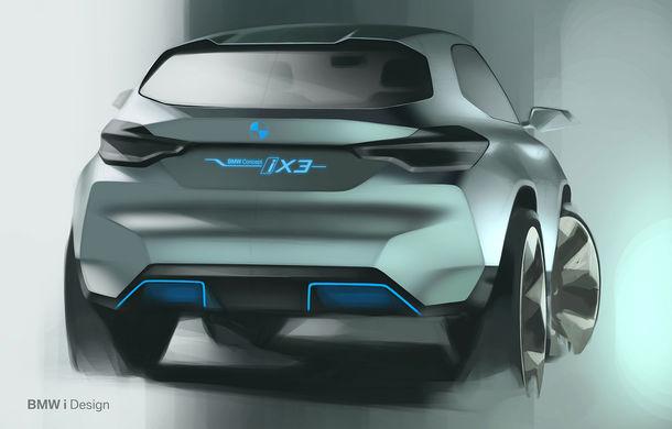 BMW iX3 Concept: 270 CP și autonomie de 400 de kilometri pentru SUV-ul electric care se va lansa în versiune de serie în 2020 - Poza 20