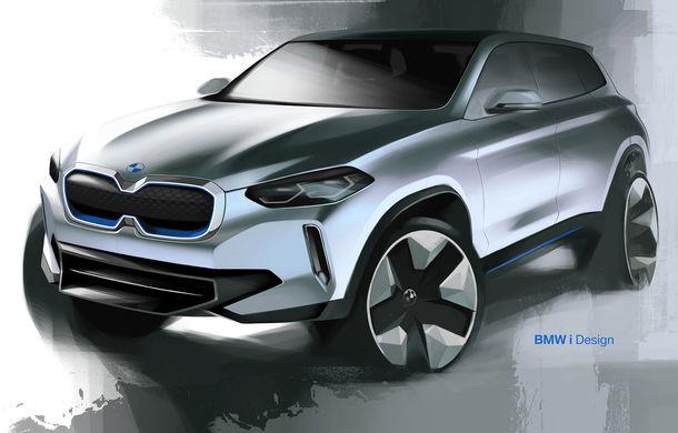 BMW iX3 Concept: 270 CP și autonomie de 400 de kilometri pentru SUV-ul electric care se va lansa în versiune de serie în 2020 - Poza 19