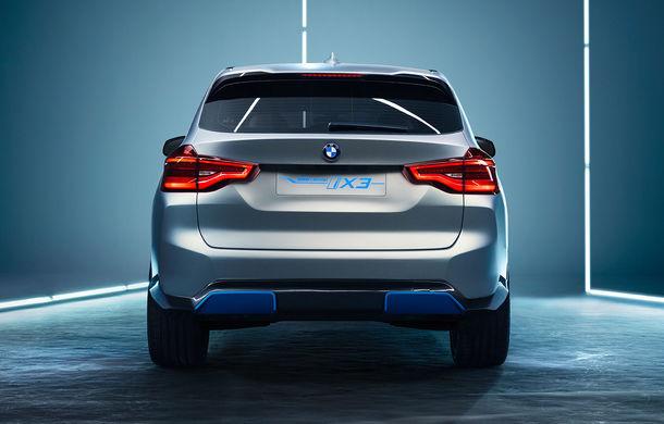 BMW iX3 Concept: 270 CP și autonomie de 400 de kilometri pentru SUV-ul electric care se va lansa în versiune de serie în 2020 - Poza 11