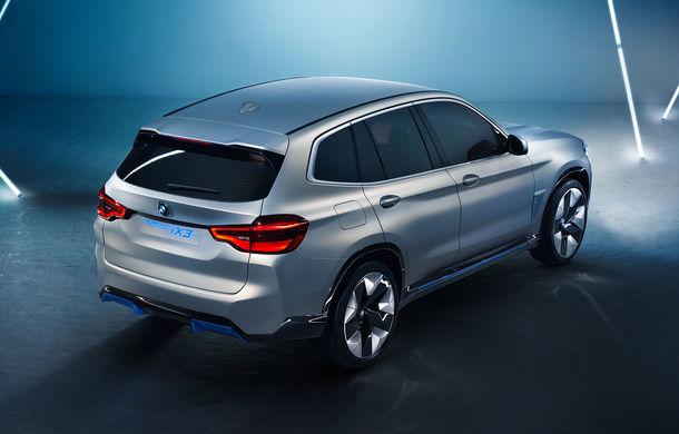 BMW iX3 Concept: 270 CP și autonomie de 400 de kilometri pentru SUV-ul electric care se va lansa în versiune de serie în 2020 - Poza 4