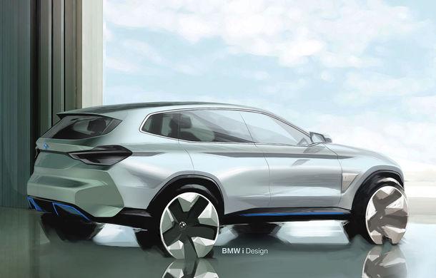 BMW iX3 Concept: 270 CP și autonomie de 400 de kilometri pentru SUV-ul electric care se va lansa în versiune de serie în 2020 - Poza 18