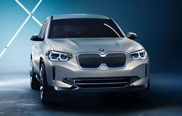 BMW iX3 Concept: 270 CP și autonomie de 400 de kilometri pentru SUV-ul electric care se va lansa în versiune de serie în 2020 - Poza 2