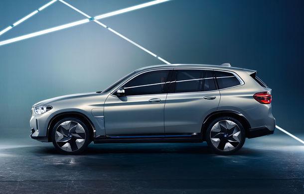 BMW iX3 Concept: 270 CP și autonomie de 400 de kilometri pentru SUV-ul electric care se va lansa în versiune de serie în 2020 - Poza 8