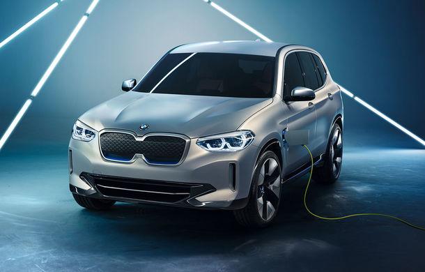 BMW iX3 Concept: 270 CP și autonomie de 400 de kilometri pentru SUV-ul electric care se va lansa în versiune de serie în 2020 - Poza 1