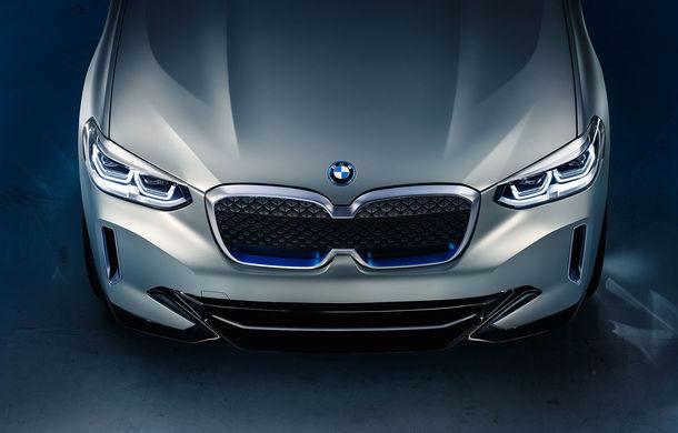 BMW iX3 Concept: 270 CP și autonomie de 400 de kilometri pentru SUV-ul electric care se va lansa în versiune de serie în 2020 - Poza 13
