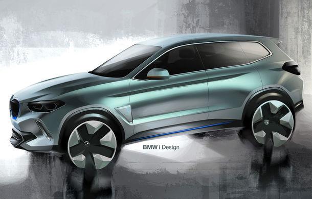 BMW iX3 Concept: 270 CP și autonomie de 400 de kilometri pentru SUV-ul electric care se va lansa în versiune de serie în 2020 - Poza 17