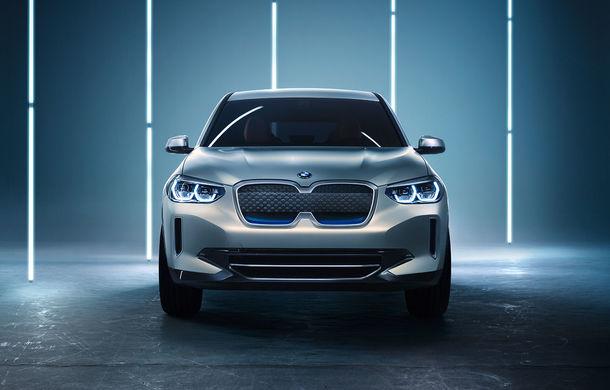 BMW iX3 Concept: 270 CP și autonomie de 400 de kilometri pentru SUV-ul electric care se va lansa în versiune de serie în 2020 - Poza 9