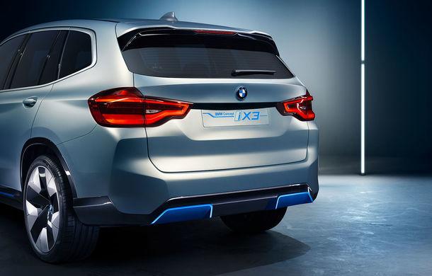 BMW iX3 Concept: 270 CP și autonomie de 400 de kilometri pentru SUV-ul electric care se va lansa în versiune de serie în 2020 - Poza 12