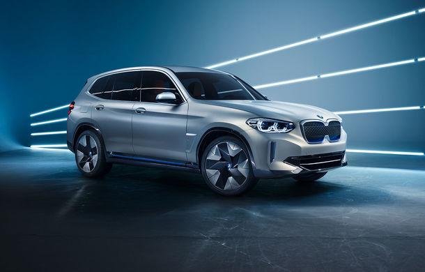 BMW iX3 Concept: 270 CP și autonomie de 400 de kilometri pentru SUV-ul electric care se va lansa în versiune de serie în 2020 - Poza 7