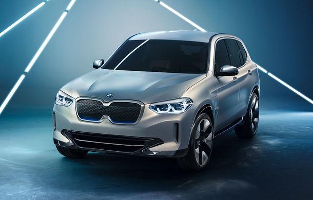 BMW iX3 Concept: 270 CP și autonomie de 400 de kilometri pentru SUV-ul electric care se va lansa în versiune de serie în 2020 - Poza 5