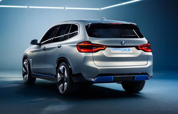 BMW iX3 Concept: 270 CP și autonomie de 400 de kilometri pentru SUV-ul electric care se va lansa în versiune de serie în 2020 - Poza 3